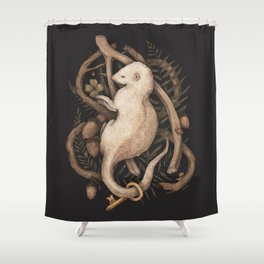 Blessings Surround You Shower Curtain