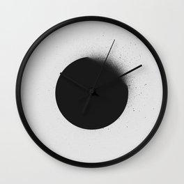 black 01 (edited) Wall Clock
