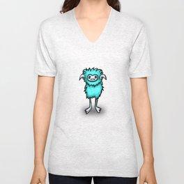 Frosty Puffball Unisex V-Neck