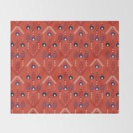 Flora Nativa Throw Blanket