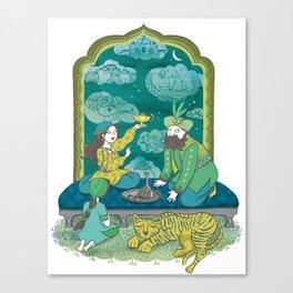 The Arabian Nights Canvas Print