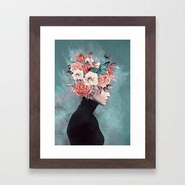 blooming 3 Framed Art Print