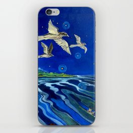 Long-Tailed Cuckoo & The Explorers iPhone Skin