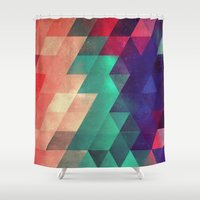 the xx Shower Curtains featuring Xx ymbry by Spires