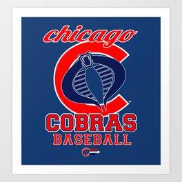 Chicago Cobras Art Print