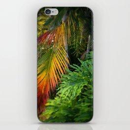 Palm Glow iPhone Skin