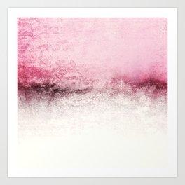 SNOWDREAMER PINK  Art Print