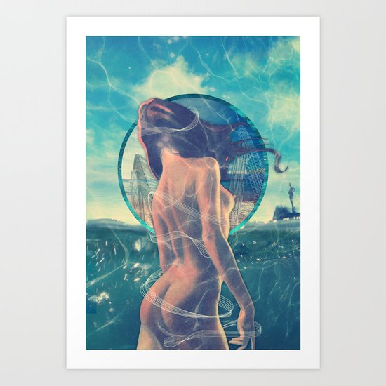 Drowned World Art Print
