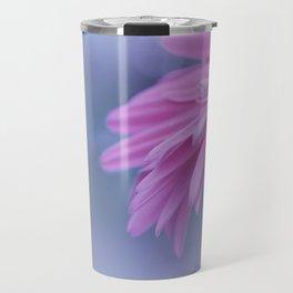Macro photo of Gerbera flower 3 Travel Mug