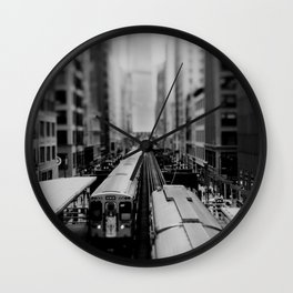 "the ""L"" ... Wall Clock"