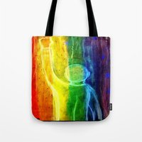 queer Tote Bags featuring This Queer Life by Dandy Jon