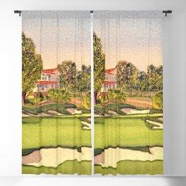 Pasatiempo Golf Course Hole 3 Santa Cruz Blackout Curtain