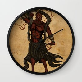 Darth A-un Wall Clock