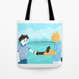 Call me by your name - Handshake Tote Bag