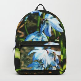 just a lovely flowers Backpack