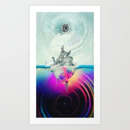 Polar Inversion Art Print
