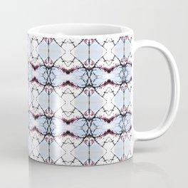 red Malus Radiant crab apple blossoms #7 pattern Coffee Mug