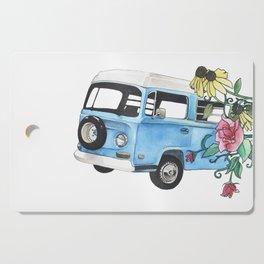 Flower Power Cutting Board