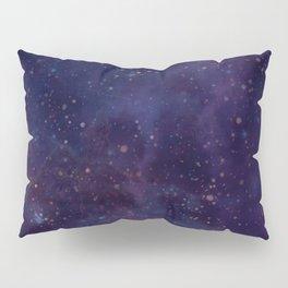 Space clouds - Blue Pillow Sham