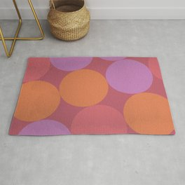 Sunset Shadows Moon Rug