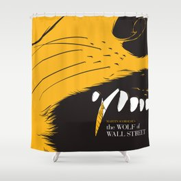 The Wolf of Wall Street | Fan Poster Design Shower Curtain