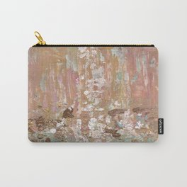 Spring Poetry - Abstract Art Carry-All Pouch