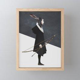 The Hunt Framed Mini Art Print