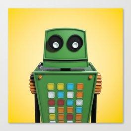 Tyler the robot. Canvas Print