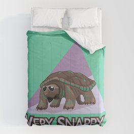 Very Snappy Snapping Turtle Comforters