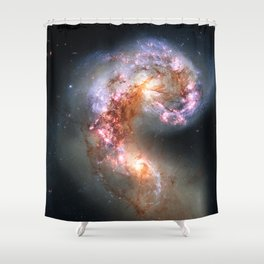 Antennae Galaxies Shower Curtain