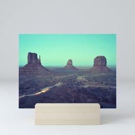 monument valley 5 Mini Art Print