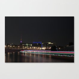 A night of lights... Canvas Print