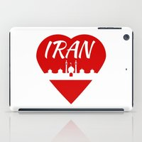 islam iPad Cases featuring Iran by mailboxdisco