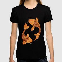 Carp Koi Fish in pond 002 T-shirt