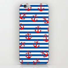 Anchors Aweigh! iPhone & iPod Skin