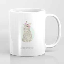 Flora the It-Bunny Coffee Mug