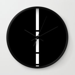 Minimal White 9 Wall Clock