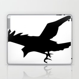 Raven A Halloween Bird Of Prey  Laptop & iPad Skin