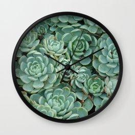 Green valentine Wall Clock