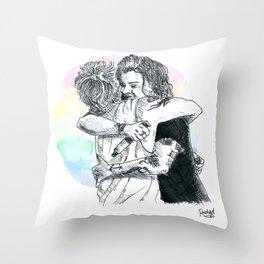 Larry Hug 2015 Throw Pillow