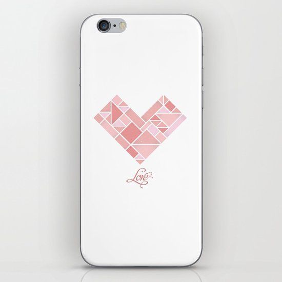 Love Shapes iPhone & iPod Skin