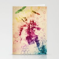 assassins creed Stationery Cards featuring Assassins Creed III by Robert William Smith
