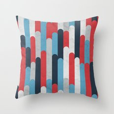 Icelandic Geology Throw Pillow