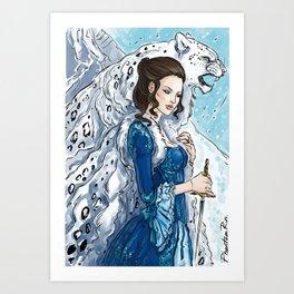 irbis & dagger Art Print