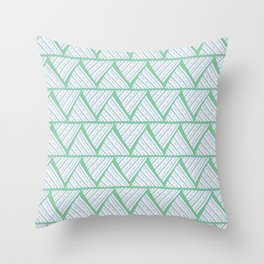 first doodle finished Throw Pillow