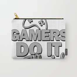 Gamers do it all night Carry-All Pouch