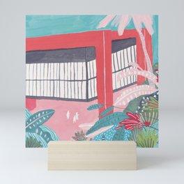 Lina Bo Bardi Sao Paulo Mini Art Print