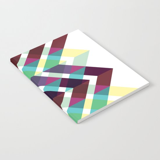 Geometric Pattern #4 (Zig Zag) Notebook