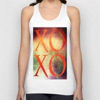 xoxo Tank Tops featuring XoXo by Fine2art