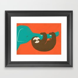 Let's Hang Framed Art Print
